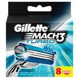 Gillette Mach3 Turbo ( 8 ks ) - Náhradní Hlavice pro muže