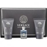Versace Pour Homme toaletní voda 5 ml + sprchový gel 25 ml + balzám po holení 25 ml