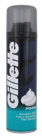 Gillette Shave Foam Pěna na holení Sensitive 200 ml pro muže