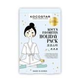 Kocostar Sada pleťových a tělových masek (Holiday Pack) 5 ks pro ženy