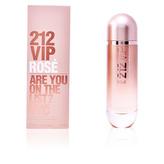 Carolina Herrera 212 VIP Rose Parfémová voda ( exkluzivní velké balení ) 125 ml pro ženy