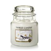 Yankee Candle Aromatická svíčka Classic střední Vanilka (Vanilla) 411 g unisex