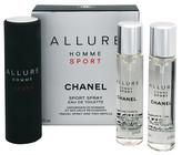 Chanel Allure Homme Sport Toaletní voda ( 3 x 20 ml ) 60 ml pro muže
