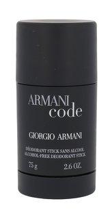 Armani Code for Men Deostick 75 ml pro muže