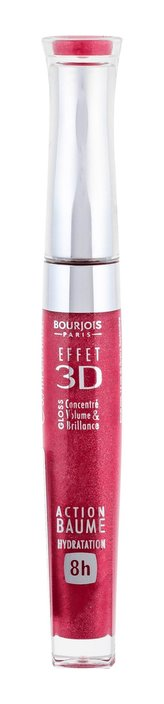 Bourjois Lesk na rty 3D Effet Gloss (Volume & Shine Elixir) 5,7 ml Odstín 06 Rouge Democratic