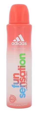 Adidas Fun Sensation For Women Deodorant 24h 150 ml pro ženy