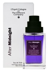 The Different Company L´Esprit Cologne After Midnight Toaletní voda 90 ml unisex