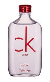 Calvin Klein CK One Toaletní voda Red Edition 100 ml For Her pro ženy