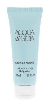 Giorgio Armani Acqua di Gioia Tělové mléko 75 ml pro ženy
