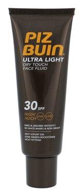 PIZ BUIN Ultra Light Opalovací přípravek na tělo Dry Touch Sun Fluid 50 ml SPF30 pro ženy