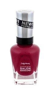 Sally Hansen Complete Salon Manicure Lak na nehty 14,7 ml 360 Plums The Word pro ženy