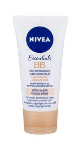 Nivea Zkrášlující hydratační krém 5 v 1 BB Cream SPF 10 (5in1 Beautifying Moisturizer) 50 ml Odstín světlý tón pleti pro ženy