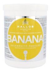 Kallos Cosmetics Banana Maska na vlasy 1000 ml pro ženy