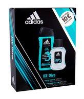 Adidas Ice Dive toaletní voda 100 ml + sprchový gel 250 ml