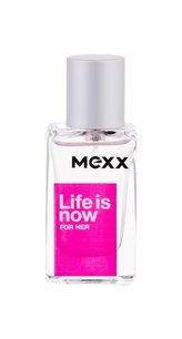 Mexx Life Is Now For Her EDT 15 ml pro ženy