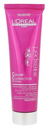 Loreal Professionnel CC krém pro ochranu barvy blond vlasů Color Corrector Blondes (Correcting Cream) 150 ml