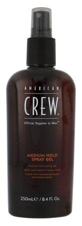 American Crew Classic Gel na vlasy Medium Hold Spray Gel 250 ml pro muže