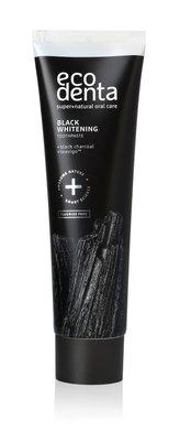 Ecodenta Černá bělicí zubní pasta s uhlím a extraktem Teavigo (Black Whitening Toothpaste) 100 ml unisex
