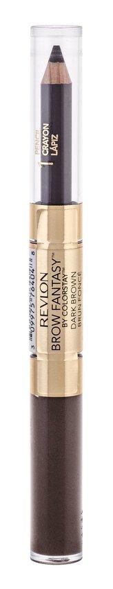 Revlon Tužka a gel na obočí 2v1 (Brow Fantasy) 0,31 g + 1,18 ml Odstín 106 Dark Brown pro ženy