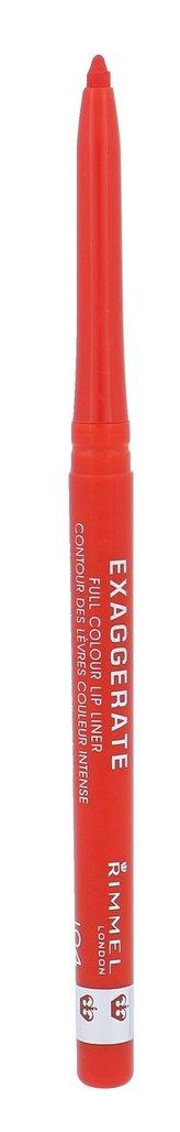 Rimmel Konturovací tužka na rty Exaggerate (Lip Liner) 0,25 g Odstín 104 Call Me Crazy pro ženy
