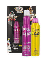 Tigi Bed Head Superstar lak na vlasy 311 ml + suchý šampon Bed Head Oh Bee Hive 238 ml