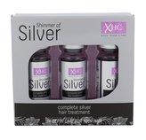 Xpel Shimmer Of Silver Olej a sérum na vlasy 36 ml 3x 12 ml pro ženy