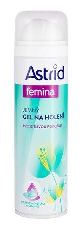 Astrid Jemný gel na holení Femina 200 ml pro ženy