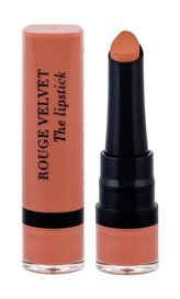 Bourjois Extrémně matná rtěnka Rouge Velvet (Lipstick) 2,4 g Odstín 001 Hey Nude pro ženy