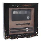 2K Let´s Get paletka očních stínů 3 x 2,2 g + aplikátor očních stínů 1 ks + tužka na oči 0,2 g 086 + tužka na oči 0,2 g 087