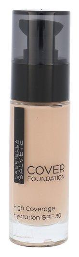 Gabriella Salvete Cover Foundation Makeup 30 ml 103 Soft Beige SPF30 pro ženy