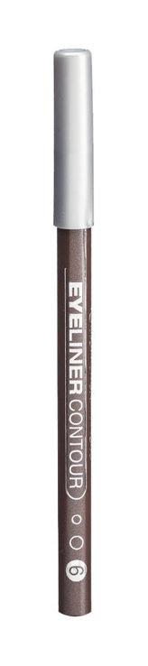 Gabriella Salvete Eyeliner Contour Tužka na oči 0,28 g 06 Light Brown pro ženy