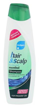Xpel Medipure Šampon Hair & Scalp 400 ml Menthol pro ženy