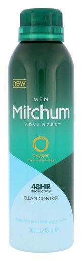 Mitchum Advanced Control Antiperspirant Clean Control 200 ml 48HR pro muže