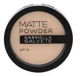 Gabriella Salvete Matte Powder Pudr 8 g 02 SPF15 pro ženy