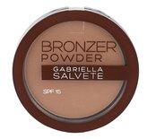 Gabriella Salvete Bronzer Powder Pudr 8 g 01 SPF15 pro ženy