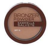 Gabriella Salvete Bronzer Powder Pudr 8 g 03 SPF15 pro ženy