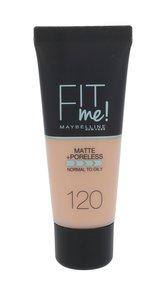 Maybelline Fit Me! Makeup Matte + Poreless 30 ml 120 Classic Ivory pro ženy
