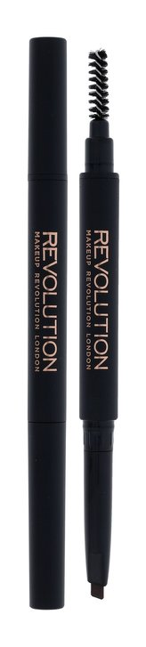 Makeup Revolution London Duo Brow Definer Tužka na obočí 0,15 g Light Brown pro ženy