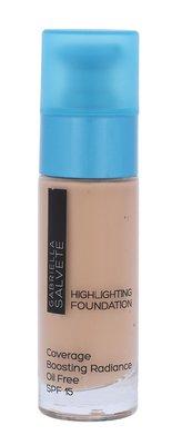 Gabriella Salvete Highlighting Foundation Makeup 30 ml 102 Soft Beige SPF15 pro ženy