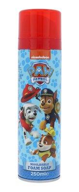 Nickelodeon Paw Patrol Sprchová pěna Mouldable Foam Soap 250 ml pro děti