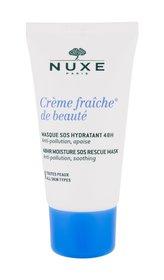 NUXE Creme Fraiche de Beauté Pleťová maska 48HR Moisture SOS Rescue Mask 50 ml pro ženy