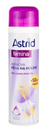 Astrid Krémová pěna na holení pro jemnou péči 250 ml pro ženy