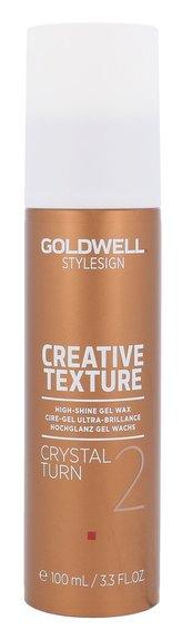 Goldwell Gelový vosk pro vysoký lesk vlasů Stylesign (Creative Texture Crystal Turn 2) 100 ml pro ženy