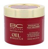 Schwarzkopf Professional Maska pro výživu a hydrataci vlasů BC Bonacure Oil Miracle (Brazilnut Oil Pulp Treatment For All Hair Types) Objem 150 ml pro ženy