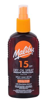 Malibu Dry Oil Spray Opalovací přípravek na tělo 200 ml SPF15 pro ženy