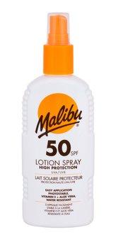 Malibu Lotion Spray Opalovací přípravek na tělo 200 ml SPF50 unisex