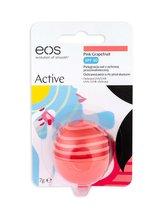 EOS Active Balzám na rty 7 g Pink Grapefruit SPF30 pro ženy