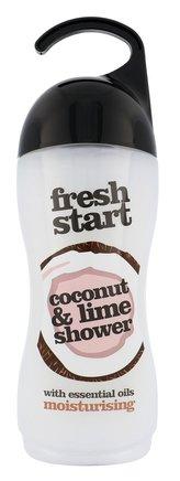 Xpel Fresh Start Sprchový gel Coconut & Lime 400 ml pro ženy