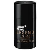 Montblanc Legend Night Deodorant 75 ml pro muže