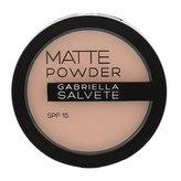 Gabriella Salvete Matte Powder Pudr 8 g 04 SPF15 pro ženy